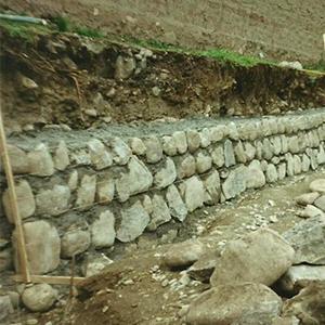 cimentaciones con piedras